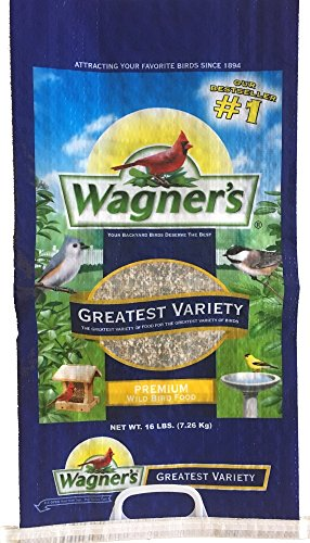 Bird Medium (Wagner's 62059 Greatest Variety Blend, 16-Pound Bag)