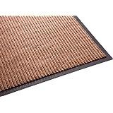 Guardian Golden Series Dual-Rib Indoor Wiper Floor Mat, Vinyl/Polypropylene, 2'x3', Beige