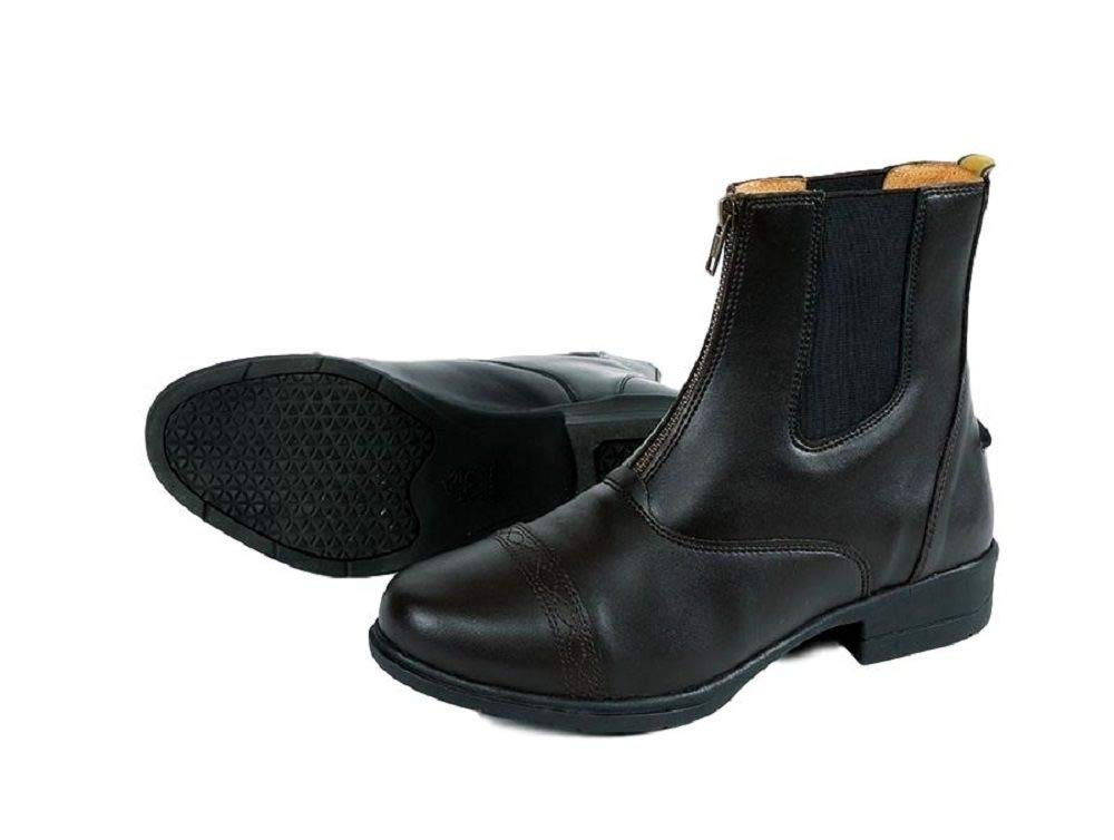 Shires Moretta Clio Adult's Paddock Boot Black 8 by Shires