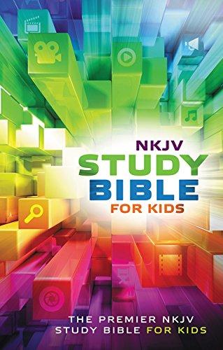NKJV, Study Bible for Kids, Hardcover, Multicolor: The Premiere NKJV Study Bible for Kids
