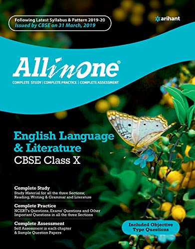 All In One English Language & Literature CBSE class 10 2019-20 (9313194155) Amazon Price History, Amazon Price Tracker