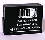 """LOOKit Premium Akku BLC12 / BLC12 E / BLC12PP - 100% dekodiert - mit Infochip - mit Restlaufzeitanzeige - """"neueste Generation"""" für Panasonic Lumix DMC-FZ1000 / FZ200 / G5 / G6"""