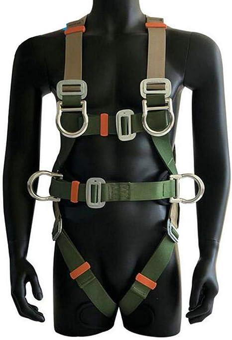 MISJIA Protección contra caídas Cinturón de Seguridad Cuerpo ...