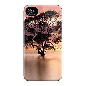 Tpu Case For Iphone 4/4s With Tree