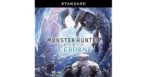 Amazon com: MONSTER HUNTER WORLD: ICEBORNE - [PS4 Digital