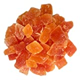 Diced Dried Papaya, No Dye 80 oz by OliveNation