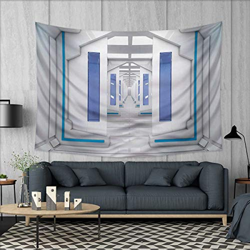 Anhuthree Outer Space Wall Hanging Tapestries Robotic Space