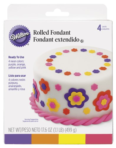 Wilton Neon Colors Fondant