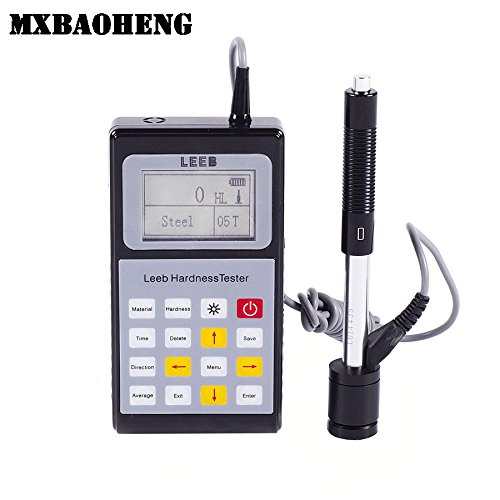 Portable Leeb Hardness Tester Leeb120 Digital Hardness Tester LCD with Back-light by MXBAOHENG
