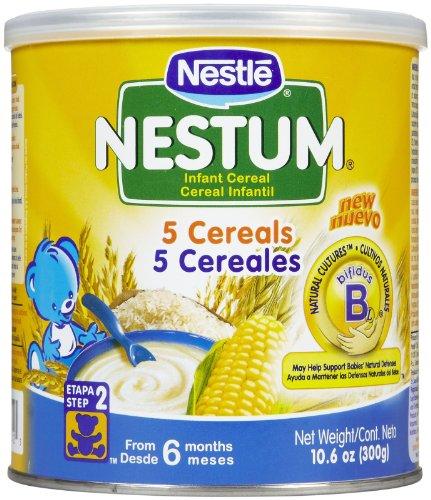 Nestum Baby Cereal - 5 Cereals - 10.6 oz