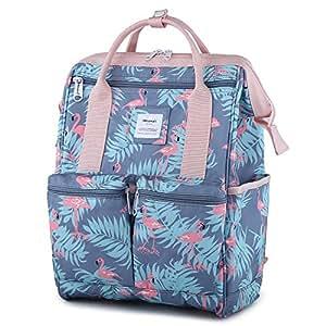 "Amazon.com: Himawari Backpack/Waterproof School Backpack 17.7"" College Vintage Travel Bag for"