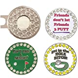 Giggle Golf Bling Putting Ball Marker Pack