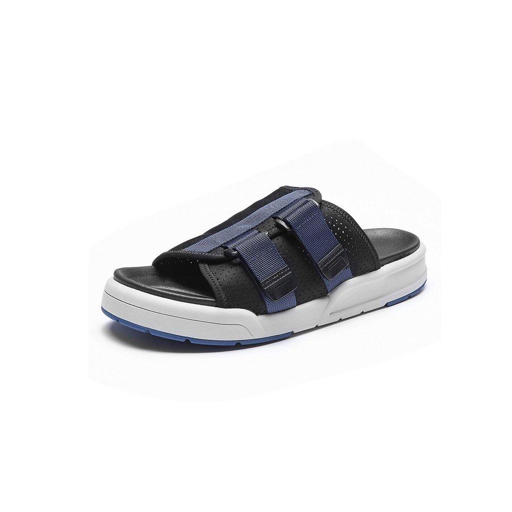 MuMa Herren Sommer Sandalen, atmungsaktiv, leicht, Bequeme Schuhe (Farbe   Blau, größe   EU42 UK8.5 CN43)