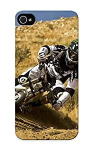 High Quality Inthebeauty Downhill Mountain Biking Skin Case Cover Specially Designed For Iphone - 5/5s