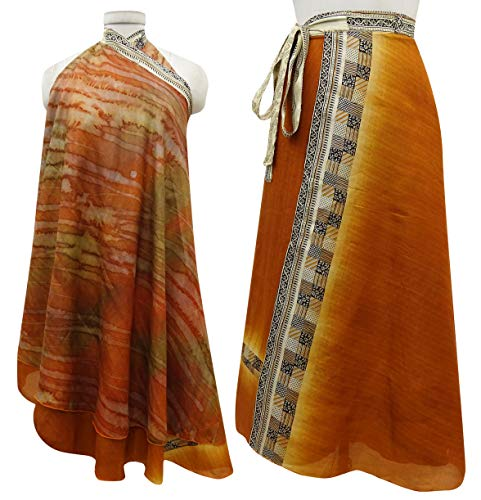 Imprimer Rouge Orange rversible Rouille La Saree Les Dress Check Femmes Summer Soie Vintage Indianbeautifulart Beach Wrap Pure CAftqtz