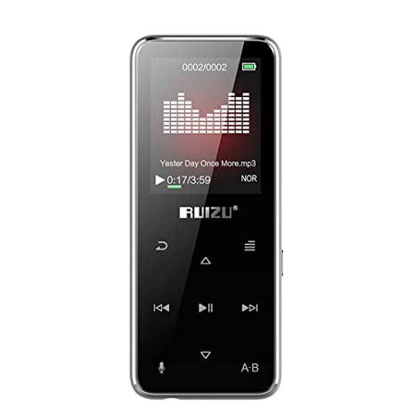 Amazon.com: Docooler RUIZU A50 - Reproductor de música MP3 ...