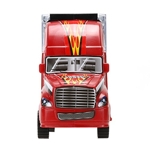 vinmax Truck Sets Alloy Transport Car Carrier Toys 13 Pcs / Set Children Birthday New Years Gaming Play Toys Gifts by vinmax (Image #4)
