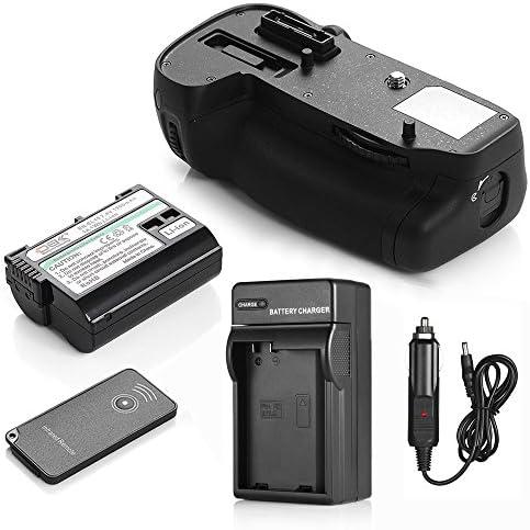 DS mb-d15電源バッテリーグリップ+ 1900mAh en-el15バッテリー+充電器for Nikon d7100