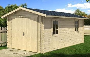 Blockhausgarage a cm mm carport gartenhaus