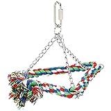 CAITEC Paradise 6-Cotton Triangle Bird Swing, Small