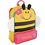 Best Sidekick Backpacks With Embroidered - Personalized Stephen Joseph Bee Sidekick Backpack with Embroidered Review