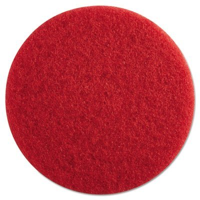 PAD4013RED Standard 13-Inch Diameter Buffing Floor Pads, ()
