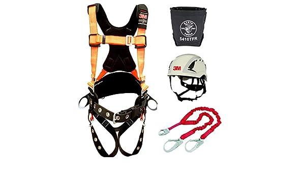 3M Protecta Pro Arnés cómodo con cincha reflectante y cinturón ...