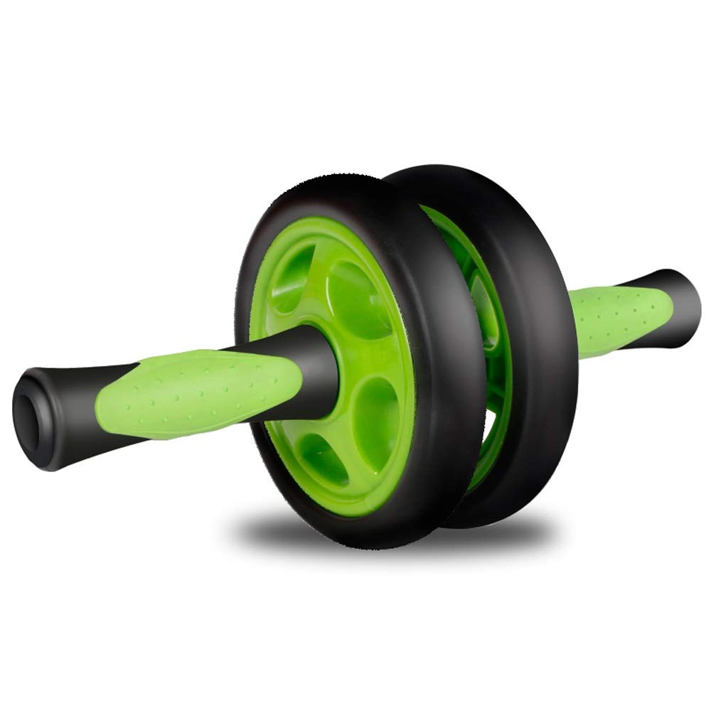 Byx- Abdominal Wheel Mute Abdominal Fitness Roller Pulley Exercise Abdominal Muscle Wheel Sports Home Fitness Equipment -Roller Wheel by Byx- (Image #1)
