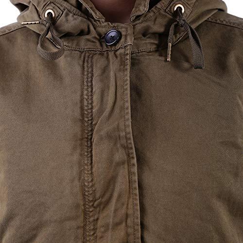 Marron amp; 1405350915 Manteau Femme Scotch Soda Coton fTqABq