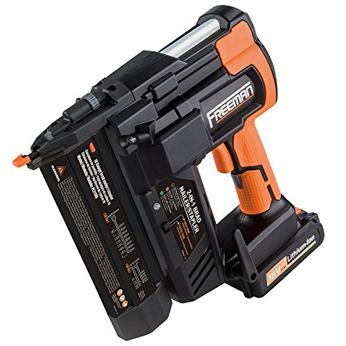 Freeman PE2118G 18 Volt 2-in-1 18 Gauge Cordless Nailer & Stapler by Freeman