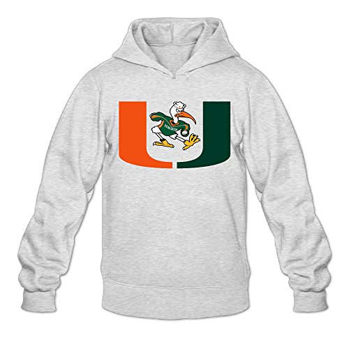 (AK79 Men's Sweater University of Miami Size S)