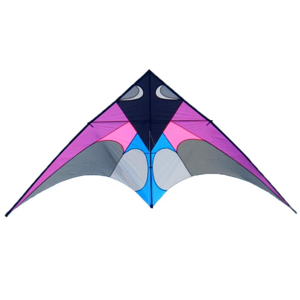 三角形の凧 136CM、飛ぶこと容易な大きい樹脂棒のそようの凧の大人の屋外のビーチ凧、300* 136CM (色 : B07R5FJ7LM 緑) B07R5FJ7LM 緑) 紫の 紫の, シモダマチ:5f896b10 --- ferraridentalclinic.com.lb