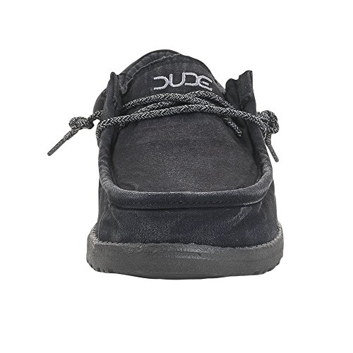 Lavato Shoes Nero Totale Maschile Wally Nero Dude q7OFgTx