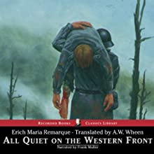 All Quiet on the Western Front Audiobook by Erich Maria Remarque Narrated by Frank Muller