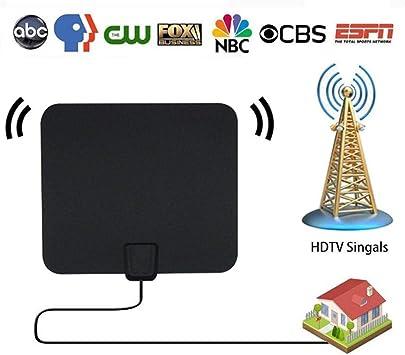 Antena de Antena de TV, Amplificador de señal de Antena de TV HD Smart TV Antena