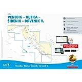 Sportbootkarten Satz 7: Adria 1 (Ausgabe 2017/2018): Venedig - Rijeka - Sibenik - Drvenik V.