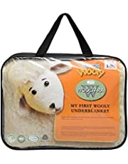 Wooltara My First Wooly 100% Australian Washable Crib Wool Cot Underblanket / Underlay Baby Blanket - 350 GSM