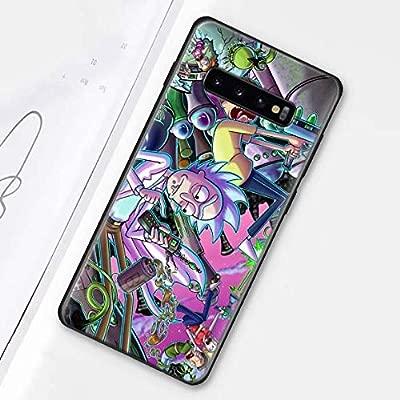 HIVA Rick and Morty Black Soft Silicone Galaxy Case Cover ...