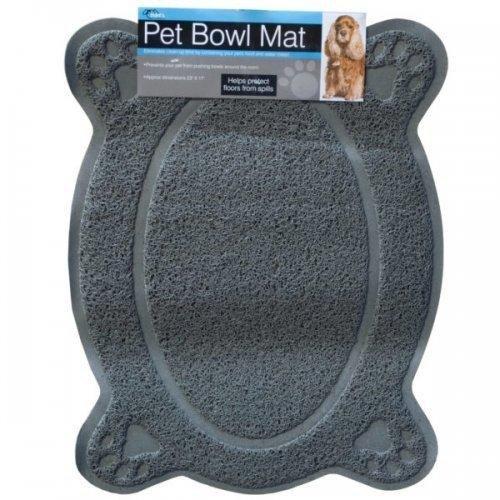 Kole Imports Four Paw Pet Bowl Mat