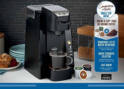 Mr. Coffee BVMC-SC500-1 Single K-Cup Brewing System, 24 oz, Black by Mr. Coffee (Image #6)