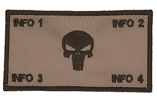 Mua TacticalStitches.com Flak Identification Patch/Tag The Punisher (V2)  trên Amazon Mỹ chính hãng 2020   Fado