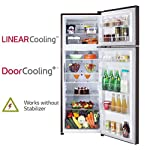 LG 308 L 3 Star with Inverter Double Door Refrigerator (GL-T322RRS3, Russet Sheen)