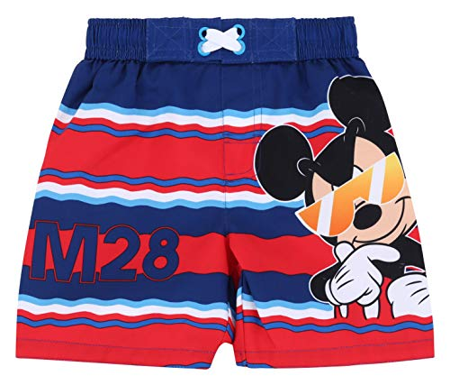 Toddler Boy Mickey Mouse Swim Trunk 4T]()