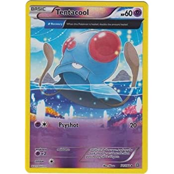 Amazoncom Pokemon Tentacool 71160 Xy Primal Clash Reverse
