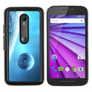 EJOOY---Cubierta de la caja de protección para la piel dura ** Motorola MOTO G3 / Moto G (3nd Generation) ** --Espacio Planet Galaxy Estrellas 7