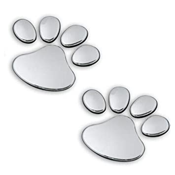 Amazon.com: boddenly 2pcs mascota huella de Animal perrito ...