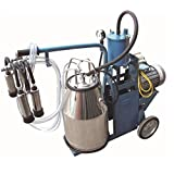 Electric Piston Milking Machine for Cows - Single Tank - Factory Direct -