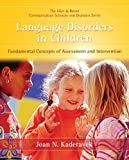 Language Disorders in Children 1st Edition