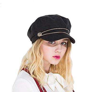 Baker boy Cap Newsboy Caps Women Cotton Octagonal Hat Ladies Elegant  Painter Hats Casual Female Summer Baker Boy Flat Caps at Amazon Women s  Clothing store  88c63896021