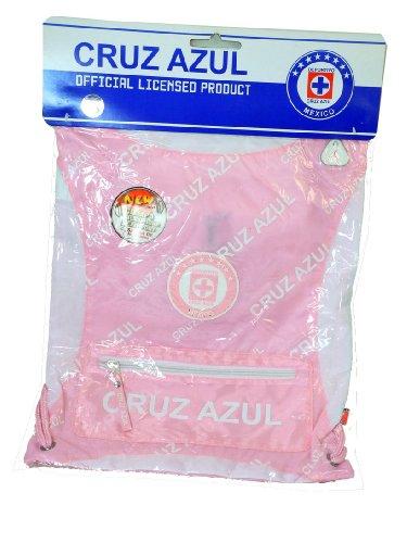 Cruz Azul Authentic Official Licensed Soccer Cinch Bag (Medium, Cruz Azul 1) (World Cup Azul Cruz)